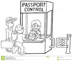 contrôle des passeports