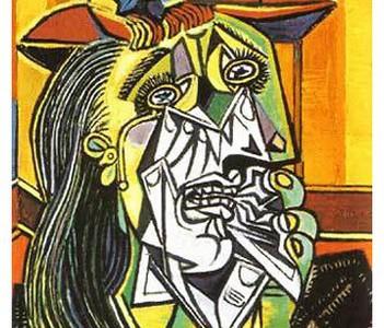 Picasso la femme qui pleure
