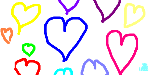coeurs enfant