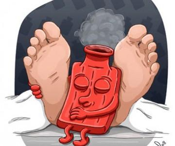 petits pieds chauffés