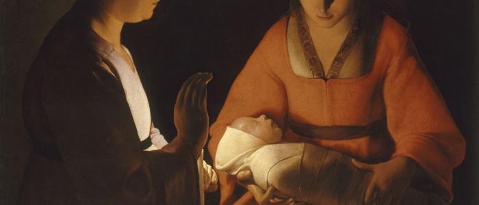 Le nouveau-né Georges De La Tour
