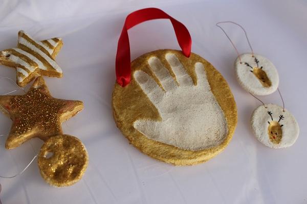 Decoration De Noel Facile A Faire En Pate A Sel