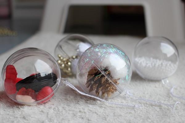 Maman Nougatine Activité: garnir les boules de noël [déco de noël