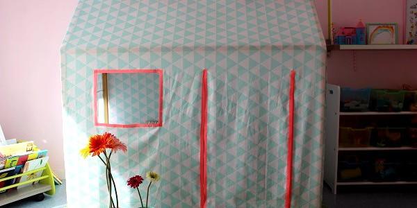cabane tissu. Black Bedroom Furniture Sets. Home Design Ideas