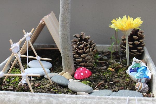 Maman Nougatine Un mini jardin pour les fées - Maman Nougatine