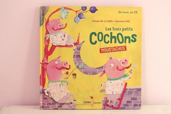 Maman Nougatine Les Trois Petits Cochons Moustachus Maman