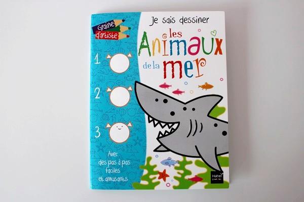 Maman nougatine apprendre dessiner les animaux de la mer - Apprendre a dessiner des animaux mignon ...