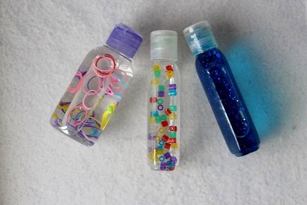 Berühmt Maman Nougatine DIY: les bouteilles sensorielles pour bébé - Maman  SP72