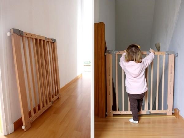 maman nougatine une barri re de s curit pour l 39 escalier maman nougatine. Black Bedroom Furniture Sets. Home Design Ideas