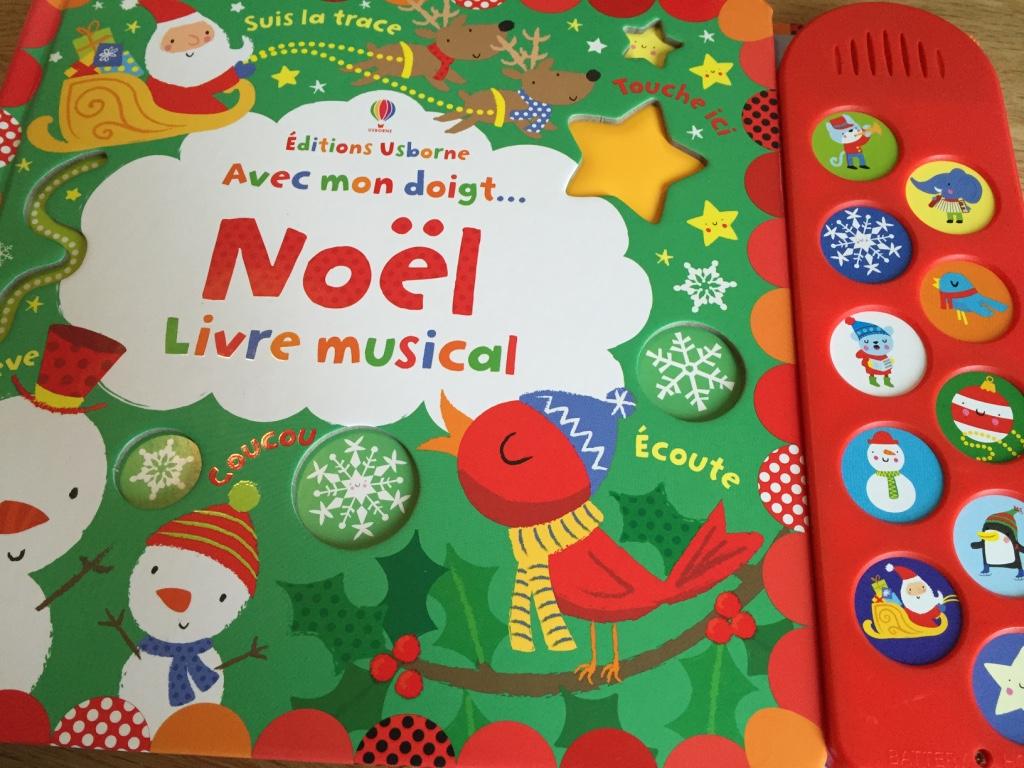 Maman Puissance 4 Un Livre Sonore Pour Attendre Noel Usborne