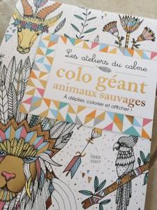 Coloriage Geant Animaux.Maman Puissance 4 Un Coloriage Geant Deux Coqs D Or