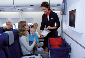 voyager avec bébé en avion