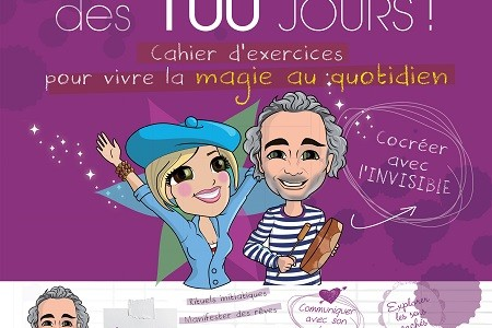 LeDefiDes100Jours MAGIE COUVspirales.indd