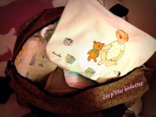 la valise de bébé