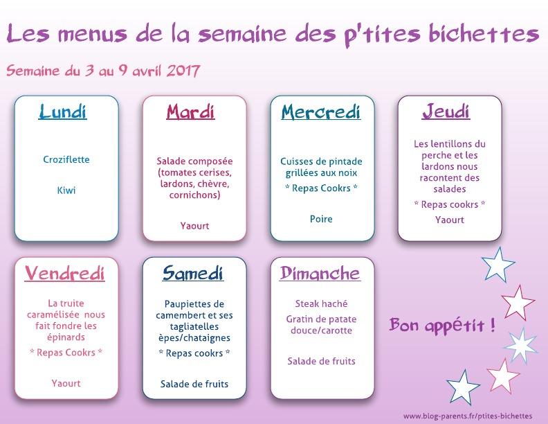 menu de la semaine (1)